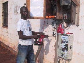 Betreuer der Solaranlage