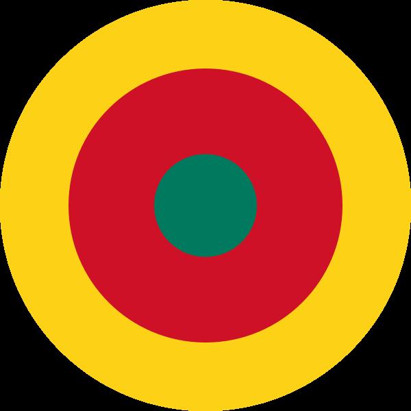Kokarde der kamerunischen Luftstreitkräfte