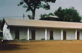 Krankenhaus in Ngaoubela - Teilansicht