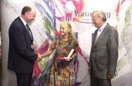 Überreichung des silbernen Ehrenzeichens des Landes Vorarlberg